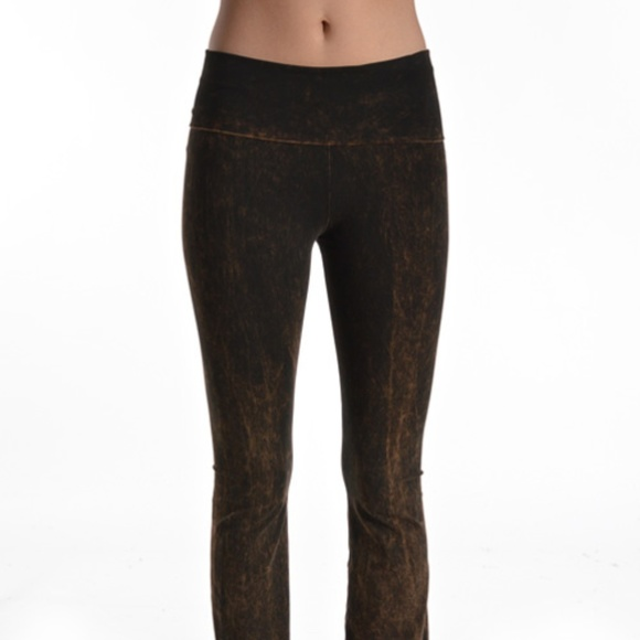 e753530f0f1d9 T Party Fashion Pants   T Party Bootcut Mineral Wash Yoga Brown ...